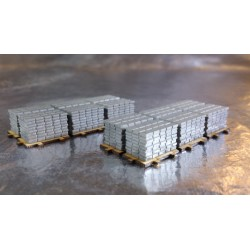 * Herpa 053617  New type! Accessories payload of sidewalk slabs on pallets x 2 pieces