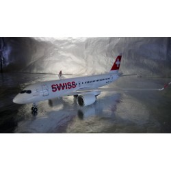 * Herpa Wings 558471  Swiss International Air Lines Bombardier CS100 - HB-JBA