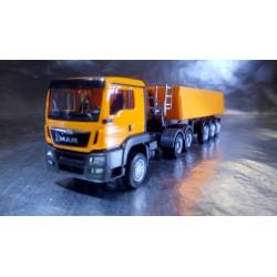 * Herpa Trucks 306478  MAN TGS L Euro 6 dumper semitrailer