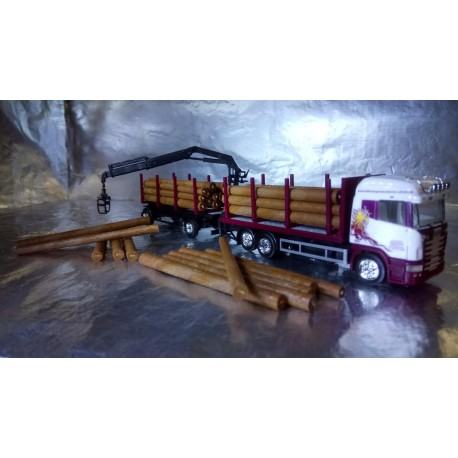 "* Herpa Trucks 307147  Scania R HL wood carrier ""Roland Scholz"""