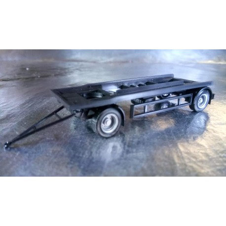 * Herpa Trucks 076289  Trailer for Container, black