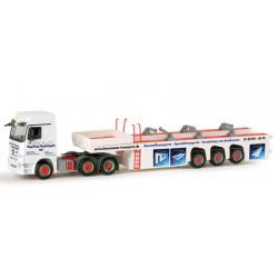 "* Herpa Trucks 155946  Mercedes-Benz Actros LH 08 cement-part transporter ""Hausmann"""