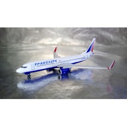 * Herpa Wings 527668  Transaero Airlines Boeing 737-800