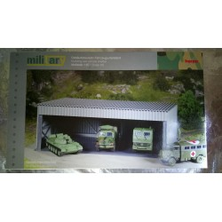 * Herpa Military 745994  Construction kit vehicle depot