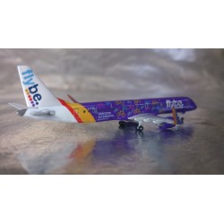 "* Herpa Wings 529792  FlyBe Embraer E195 ""Welcome to Yorkshire"""
