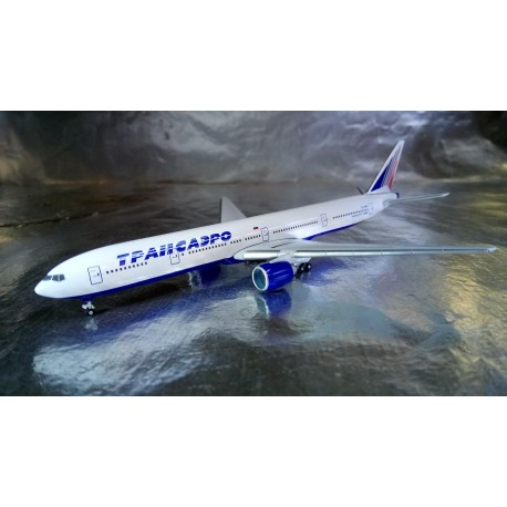 * Herpa Wings * Herpa Wings 527507 Transaero Boeing 777-300