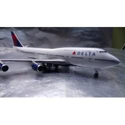 * Herpa Wings 506915-002  Delta Air Lines Boeing 747-400