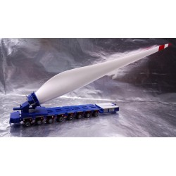 * Herpa Trucks 307697  Wind Turbine Rotor Transport / Flügeltransport Goldhofer FTV 300 Trans A D M sprl