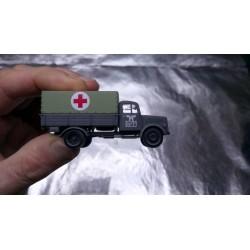 """* Herpa Military 746052  Mercedes-Benz medical service truck """"Deutsche Reichsbahn / Eisenbahnverwaltung"""""""