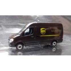 """* Herpa Trucks 093408  Mercedes-Benz Sprinter Kasten HD """"UPS"""""""