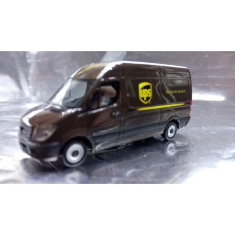 "* Herpa Trucks 093408  Mercedes-Benz Sprinter Kasten HD ""UPS"""