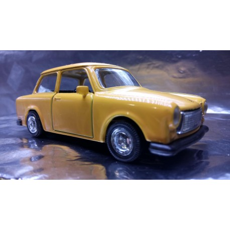 * Welly - Trabant Mustard Yellow with opening front doors Scale 1:34