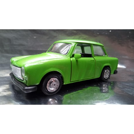 * Welly - Trabant Apple Green with opening front doors Scale 1:34