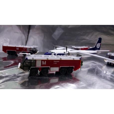 * Herpa 558853  Scenix - 1 x Airport Munich Fire Engine 1:200