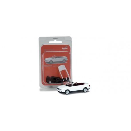 * Herpa Minikit 012287-002 Audi 80 convertible, pure white