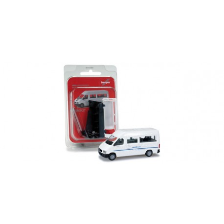 "* Herpa Minikit 012584  Herpa VW LT 2 Bus High roof ""Airport Shuttle"""