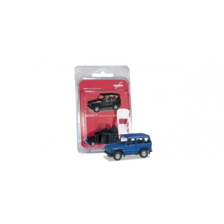 * Herpa Minikit 012645-004 Mercedes-Benz G-Modell, ultramarin blue