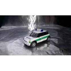 """* Herpa Cars 045735  Mini Cooper """"Police Munich"""""""