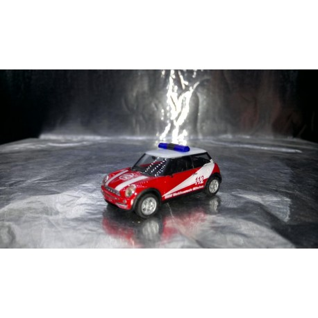 "* Herpa Cars 048132  Mini Cooper™ ""BMW plant fire department"""