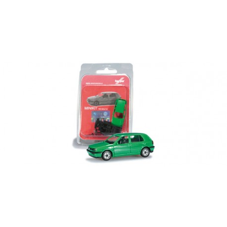* Herpa Minikit 012355-004 VW Golf III, mint green