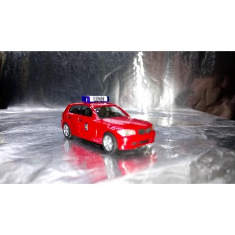 "* Herpa Cars 046794  BMW 1™ ""Schwerin fire department"""