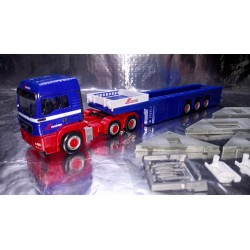 """* Herpa Trucks 155618  MAN TGS LX cement part semitrailer with load (4 pieces from an house) """"Riwatrans"""""""