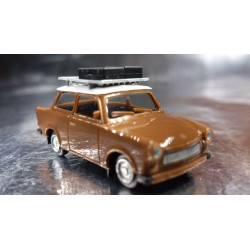 "* Herpa Cars 023450  Trabant 601 S ""on Tour"""