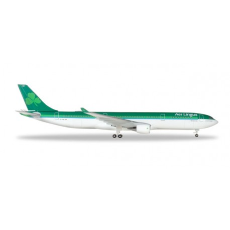 """* Herpa Wings 531818  Aer Lingus Airbus A330-300 – EI-FNH """"Laurence O' Toole / Lorcan Ó Tuathail"""""""
