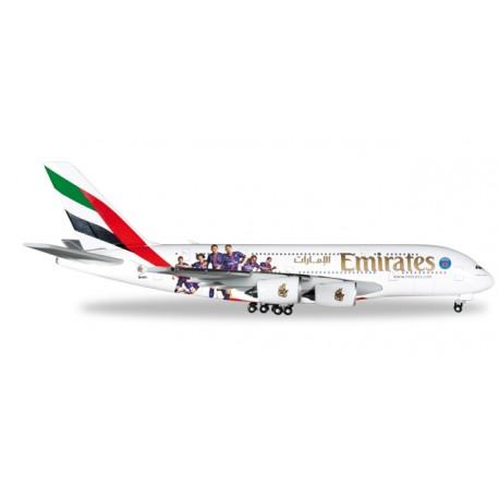 "* Herpa Wings 529440  Emirates Airbus A380 ""Paris St. Germain"""