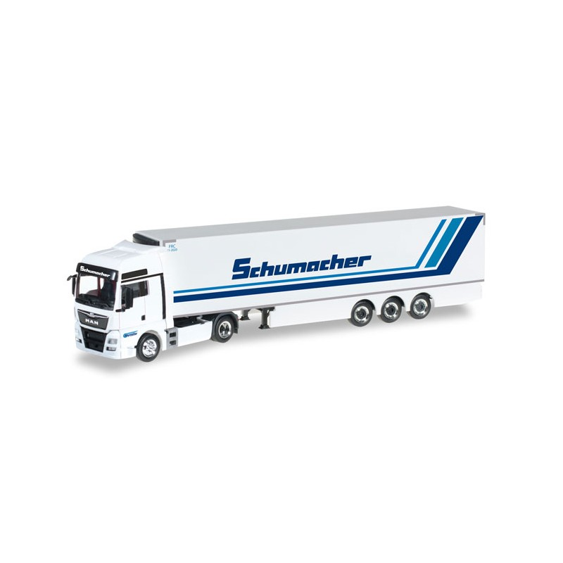 herpa trucks 306263 man tgx xxl euro6 refrigerated box