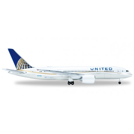 "* Herpa Wings 523837-002  United Airlines Boeing 787-8 ""Dreamliner"""