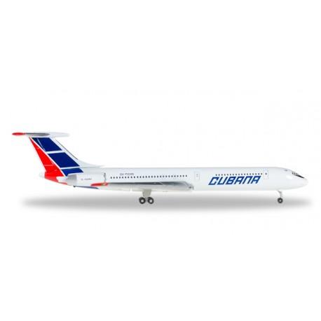 * Herpa Wings 529365  Cubana Ilyushin IL-62M
