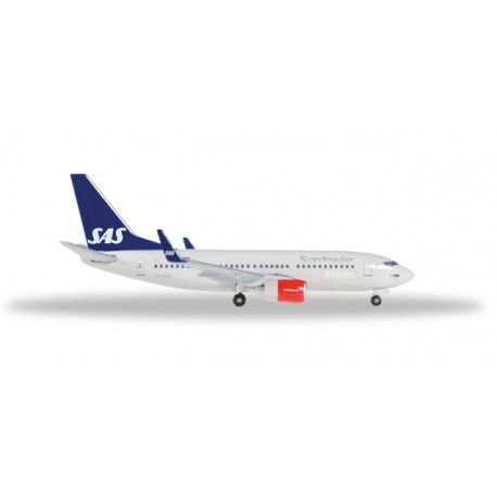 "* Herpa Wings 529419  SAS Scandinavian Airlines Boeing 737-700 ""Lodin Viking"""