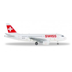 "* Herpa Wings 558020  Swiss International Air Lines Airbus A319 ""Mont Racine"""