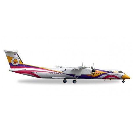 """* Herpa Wings 558044  Nok Air Bombardier Q400 """"Nok Anna"""""""