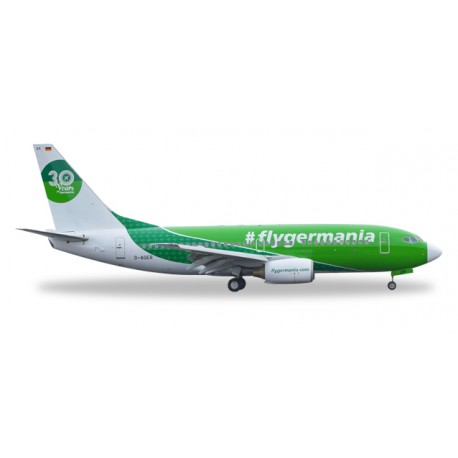 "* Herpa Wings 529518  Germania Boeing 737-700 ""30 Years"""