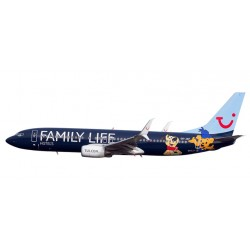 "* Herpa Wings Snapfit 611145  Jetairfly Boeing 737-800 ""Family Life Hotels"""