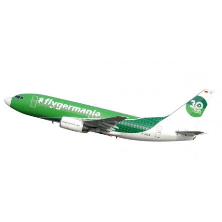 "* Herpa Wings Snapfit 611176  Germania Boeing 737-700 ""30 Years"""