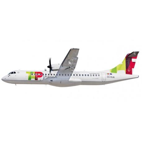 * Herpa Wings Snapfit 611206  TAP Express ATR-72-600