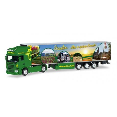 "* Herpa Trucks 306324  Scania R TL refrigerated semitrailer ""Gellen"""