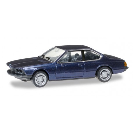 * Herpa Cars 038683  BMW 635 CSi, alpin blue metallic