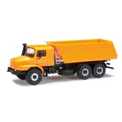 * Herpa Trucks 303415  Mercedes-Benz Zetros 6x6 Meiller construction site dumper