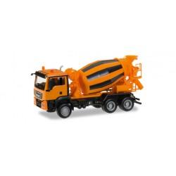 * Herpa Trucks 305358  MAN TGS M Euro 6 cement truck 3-axle