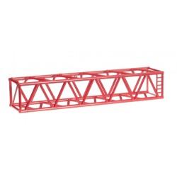 "* Herpa Construction 076647  Grider mast parts L-boom for Liebherr Raupenkran LR1600/2 ""Riga Mainz / Mammoet"" Content: 2 pieces"