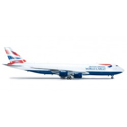 * Herpa Wings 555173  British Airways World Cargo Boeing 747-8F