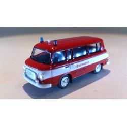 "* Herpa Cars 066464  Barkas B 1000 bus ""Fire department"""