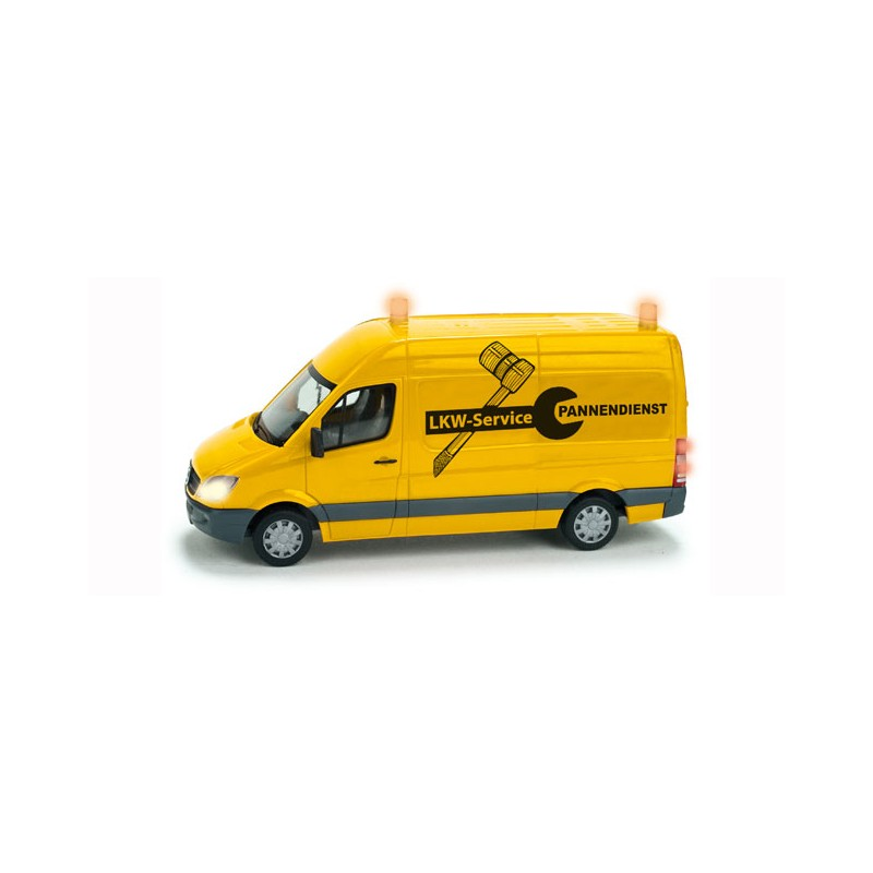Herpa diorama 461573 mercedes benz sprinter truck for Mercedes benz customer service email address