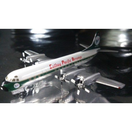 "* Herpa Wings 562034  Cathay Pacific Airways Lockheed L-188A Electra ""60th Anniversary"""