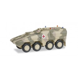 * Herpa Military 745161  GTK Boxer Sanitätsfahrzeug, dekoriert
