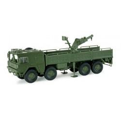 * Herpa Military 741842  Truck 464 10t 8x8 crane BW